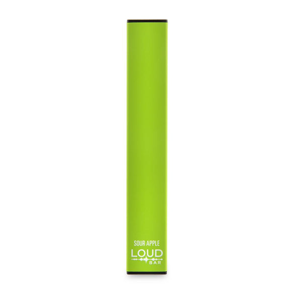 Loud Bar Disposable Vape Device - Sour Apple