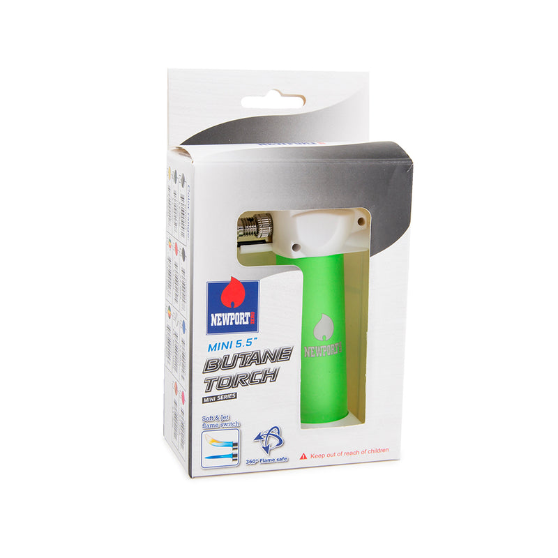 "Newport Zero 5.5"" Mini Torch - Glow Green"