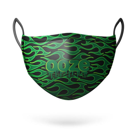 Ooze Face Mask - Neon Flame Clothing Accessories