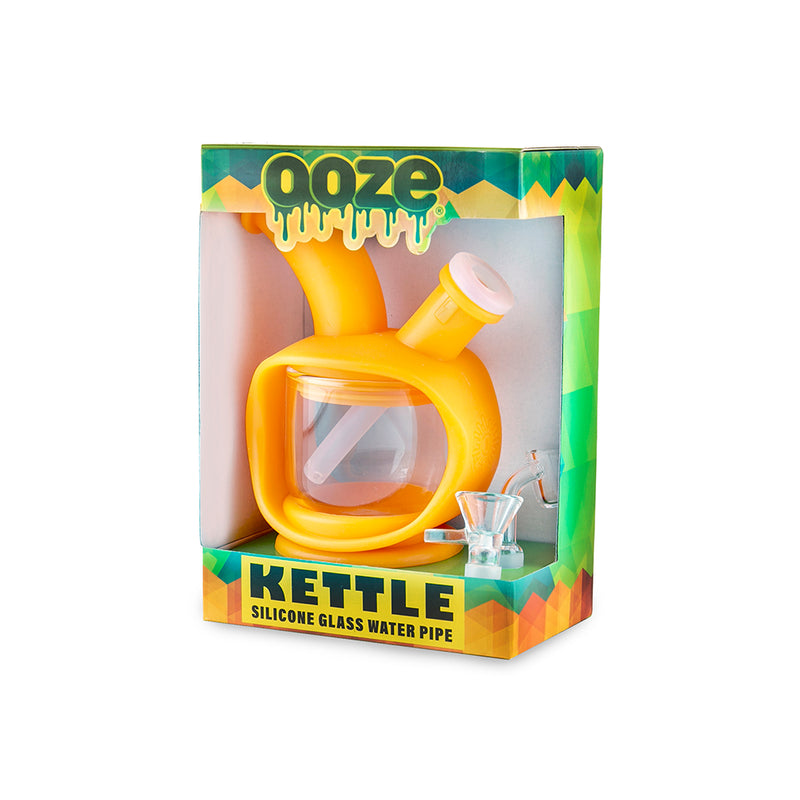 Kettle Silicone Bubbler - Orange