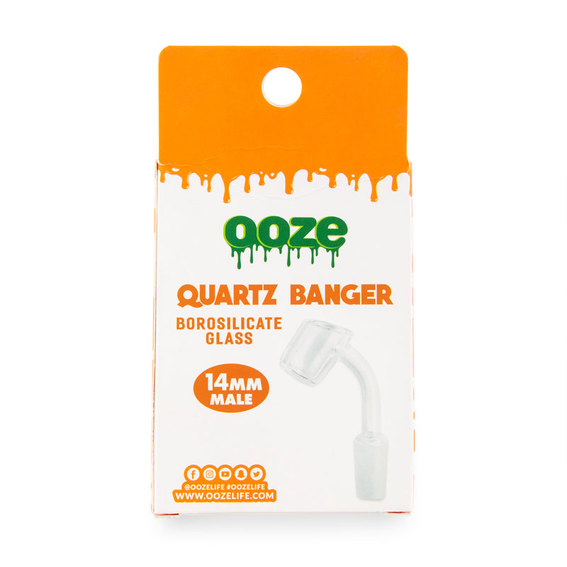 Ooze Quartz Glass Banger - 14mm