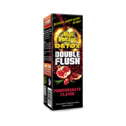 High Voltage Double Flush - Pomegranate
