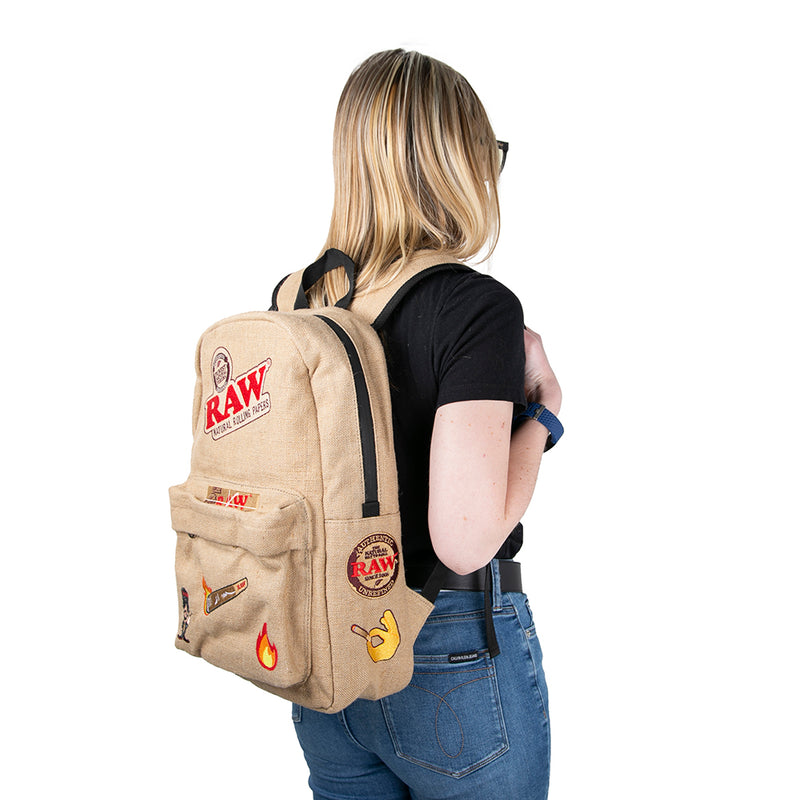 Raw X Rolling Paper Smell Proof Backpack - 2