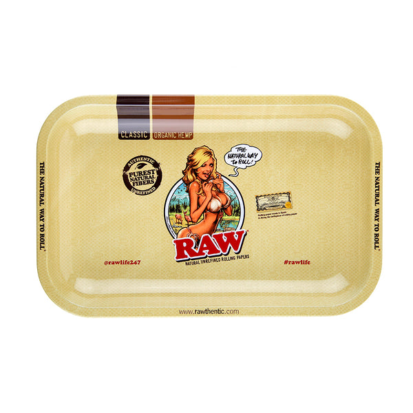 RAW Rolling Tray Girl