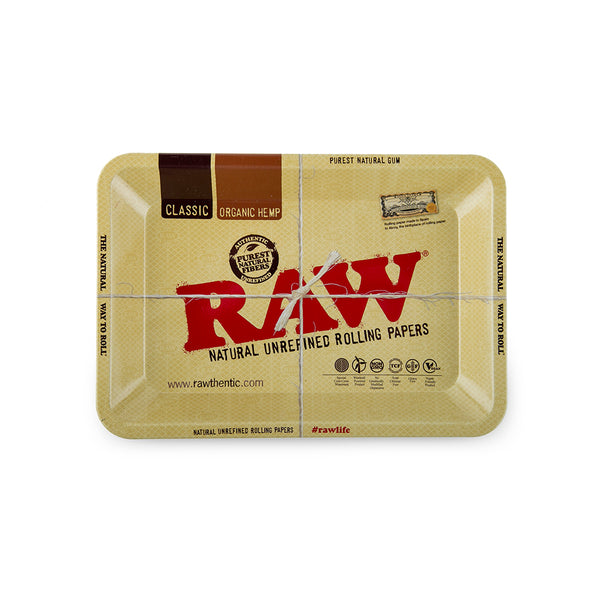 RAW Rolling Tray Metal