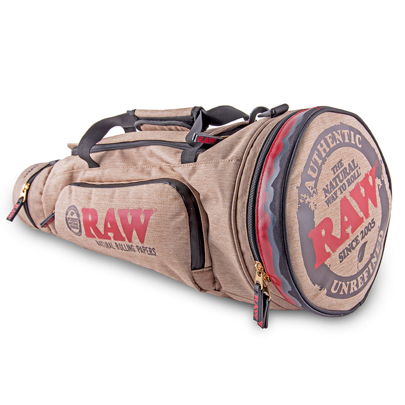 Raw X Rolling Papers Cone Duffel Bag
