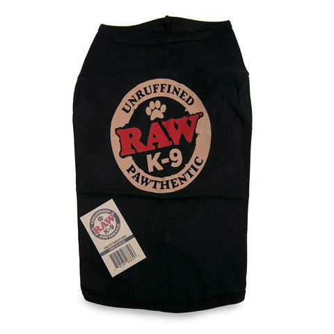 RAW Pet Ringer Shirt - Large