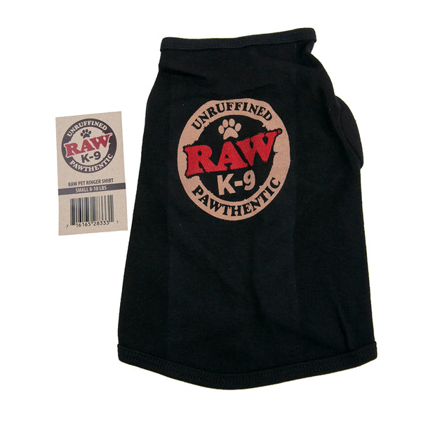 RAW Pet Ringer Shirt - Small