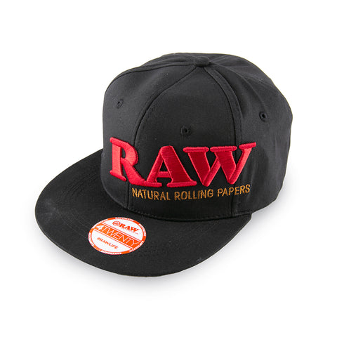 RAW Flex Fit Hat - Black - Large/XL