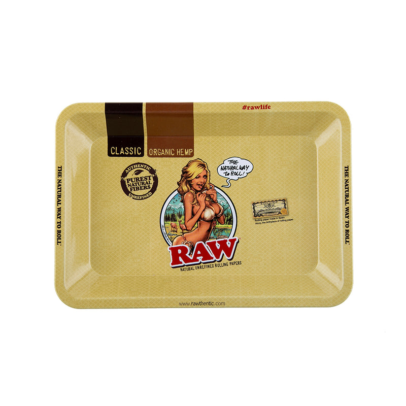 RAW Rolling Tray - Girl - Mini