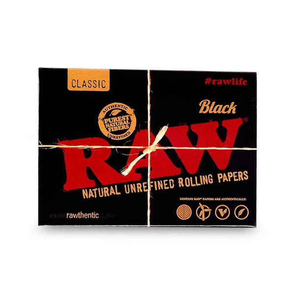 Raw Playing Cards Classic Black