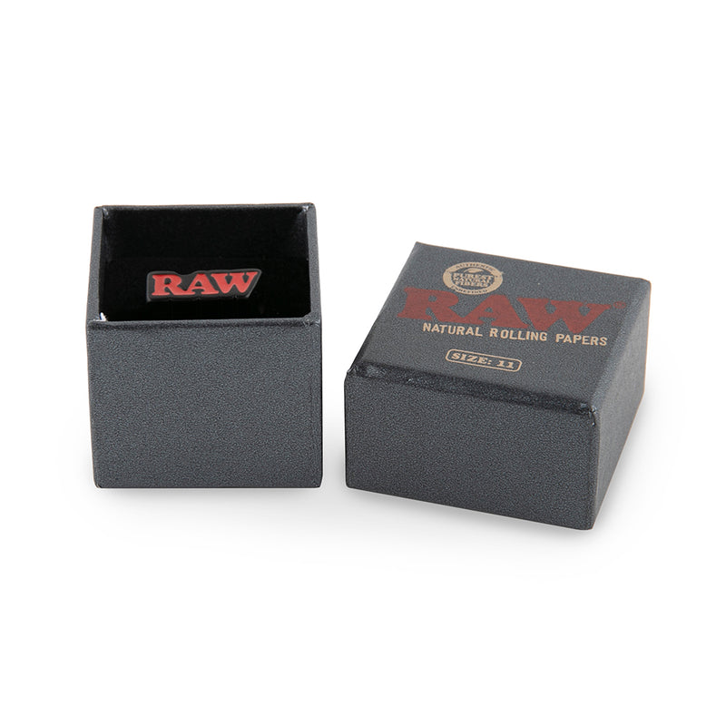 Raw Smoke Ring - Black Finish