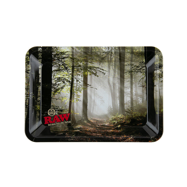 RAW Rolling Tray Smokey Forest