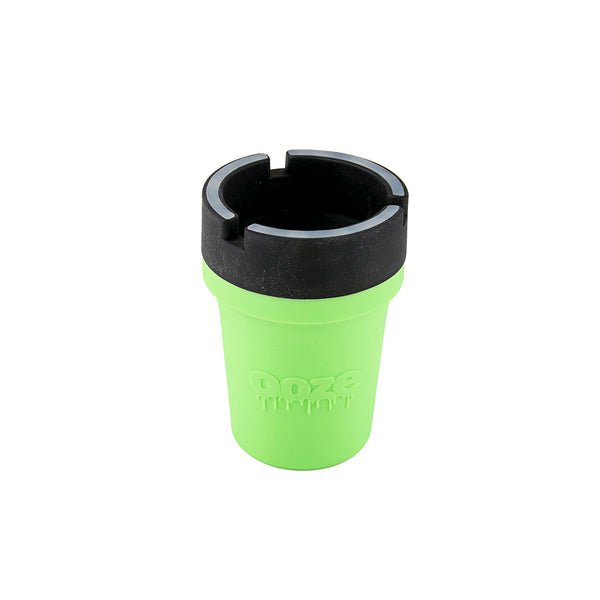Ooze Roadie Silicone Car Ashtray - Green