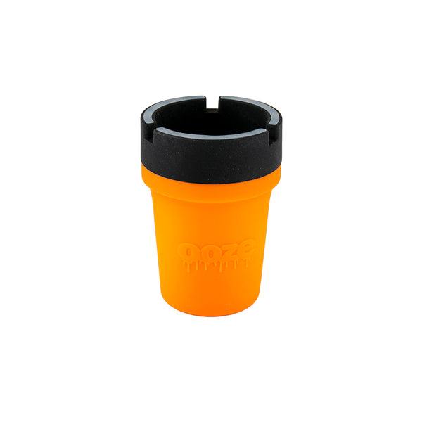 Ooze Roadie Silicone Car Ashtray - Orange