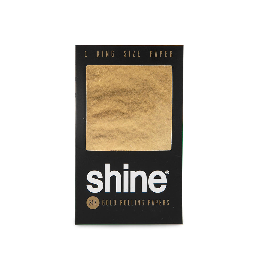 Shine 24K Gold Rolling Papers - 1 Sheet Pack