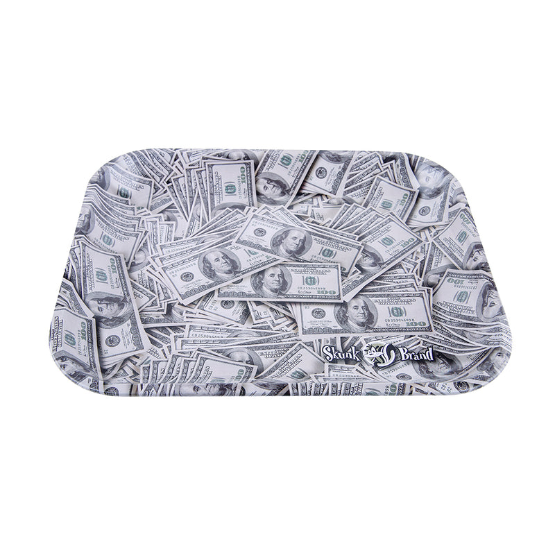 Skunk Brand Rolling Tray - Cash - Large