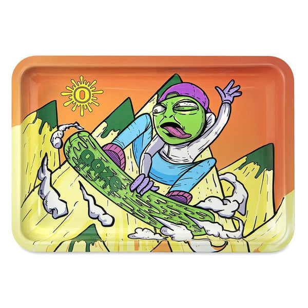 Ooze Rolling Tray - Slime Carver Small