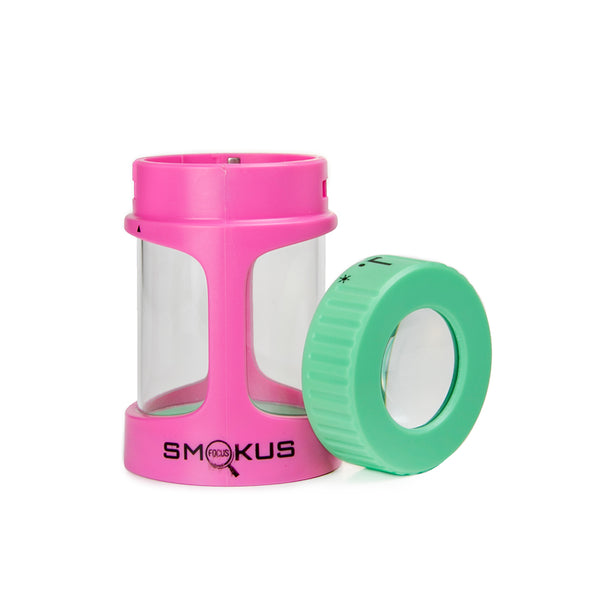 Smokus Focus Stash Jar - Honey