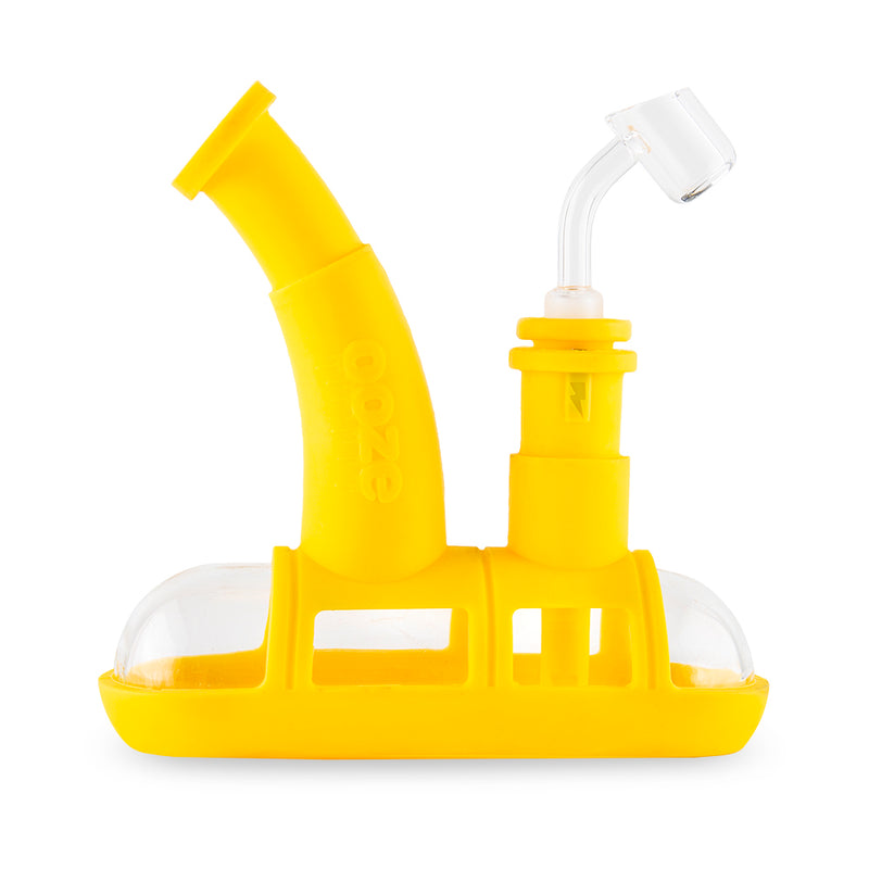 Steamboat Silicone Bubbler - Yellow