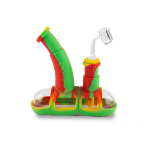 Steamboat Silicone Bubbler - Rasta