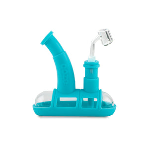 Steamboat Silicone Bubbler - Teal