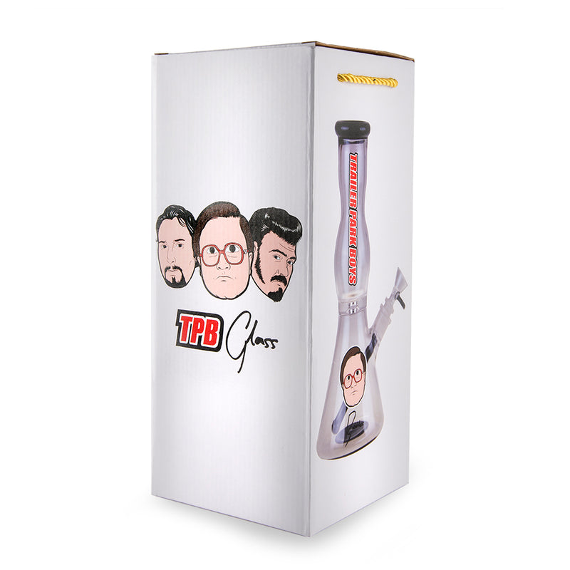 "Famous Brandz Trailer Park Boys Water Pipe - 12"" - Bubbles"