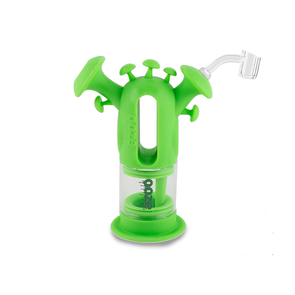 Trip Pipe Silicone Bubbler - Green