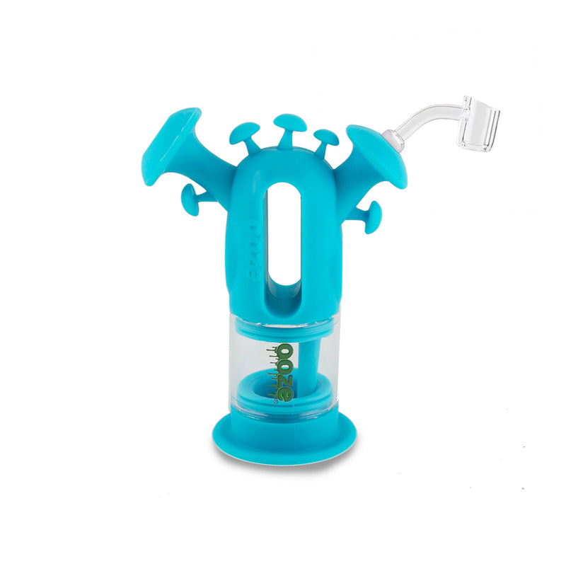 Trip Pipe Silicone Bubbler - Teal