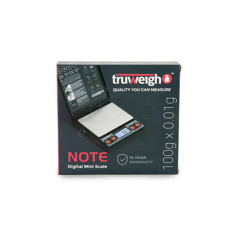 Truweigh Note Digital Mini Scale 100G X 0.01G