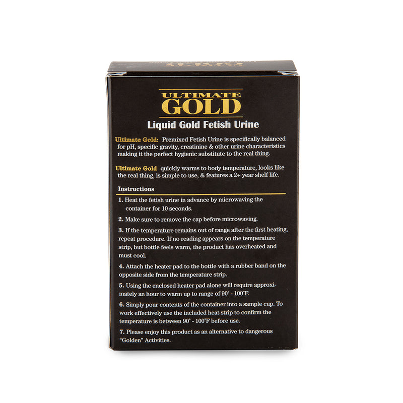Ultimate Gold Liquid Gold Fetish Urine - 3oz