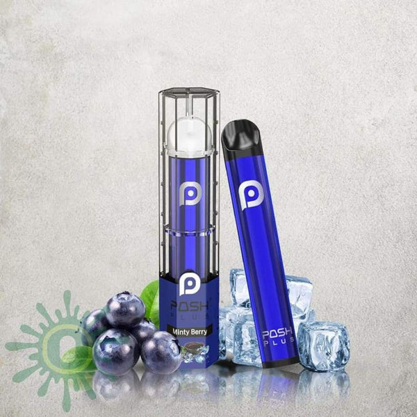 Posh Plus Disposable Vape - Minty Berry 10Ct