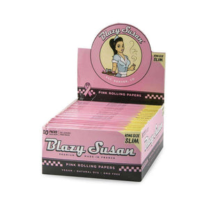 Blazy Susan King Size Slim Pink Papers