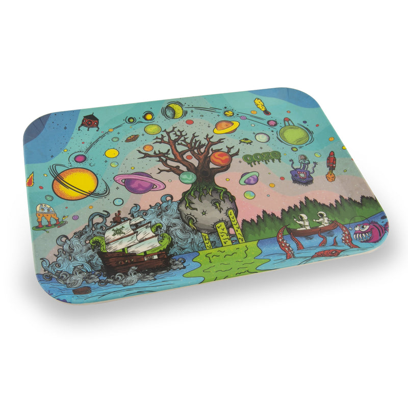 Ooze Rolling Tray - Biodegradable Tree Of Life Trays