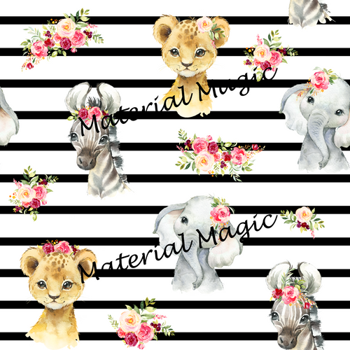 Baby Animals Floral