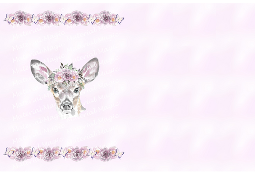 Floral Friends Deer Topper