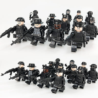 Real Heroes Special Forces Mixed Toyset includes Toy Gun Soldier Other Items