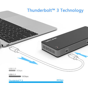 Thunderbolt™ 3 Dual 4K Docking Station