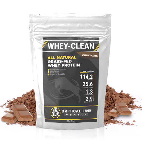 Whey-Clean - Chocolate - Critical Link Health