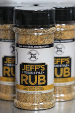 Load image into Gallery viewer, Jeff's Texas-Style Rub (Case of 24 bottles)