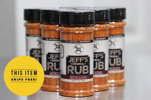 Jeff's Original Rub (Case of 24 bottles)