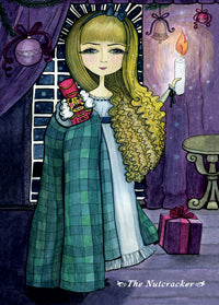 Nutcracker postcard, Nutcracker, Christmas fairy tale card