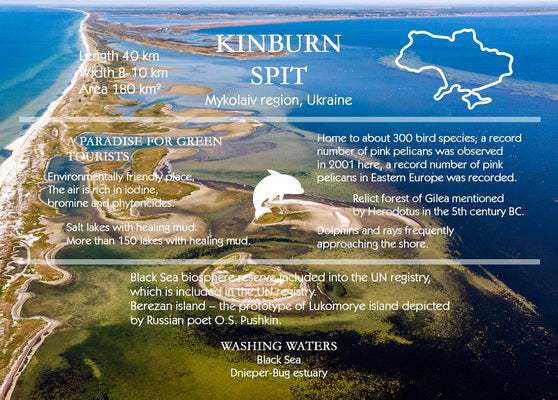 gf ukrainian card, kinburn spit card