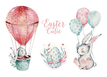 Happy Easter Day postcard, Happy Easter postcard, easter postcard, easter cutie postcard