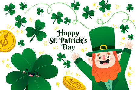 Happy St. Patricks Day postcard, Good Luck to You on St. Patrick's Day Postcard, St. Patrick's Day Postcard,  St. Patrick's Day Postcards for sale