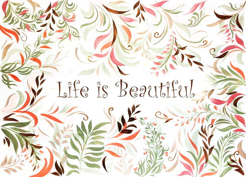 life is postcard, life is beautiful postcard, Life Is Beautiful Quotes Postcard