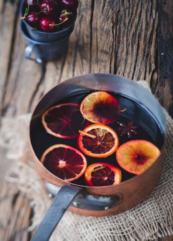 Mulled Wine Postcard, Christmas Mulled Wine Postcard