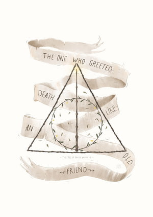 Harry Potter, Hogwarts, pug, faculties of Hogwarts, Deathly hallows