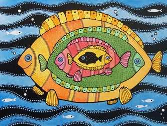 fishes postcard, fishes postcard for sale, fish postcards