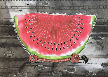 Watermelon postcard, Watermelon postcard for sale